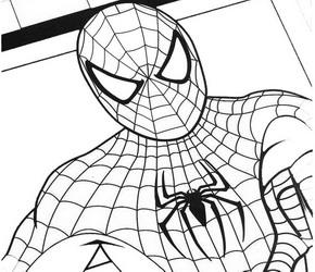 Disegni da colorare gratis per bambini for Disegni spiderman da colorare gratis