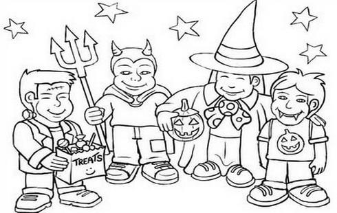 Disegni da colorare gratis per bambini for Disegni halloween da colorare gratis