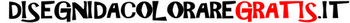 il logo del sito disegnidacoloraregratis.it