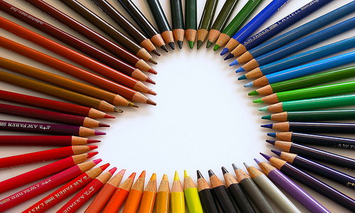 Disegni da colorare gratis come usare le matite colorate for Immagini di pareti colorate